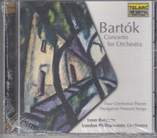 Bart�k - CONCERTO, 4 ORCHESTRAL PIECES, HUNGARIAN PEASENT SONGS CD BOTSTEIN