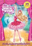 64158 - Barbie �s a r�zsasz�n balettcip� - Foglalkoztat�k�nyv - 35 matric�val